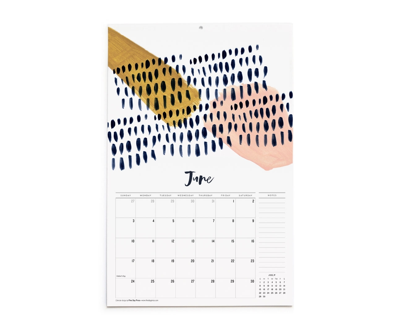 2018 Abstract Art Wall Calendar – Fine Day Press With Best And Newest Abstract Calendar Art Wall (View 4 of 20)