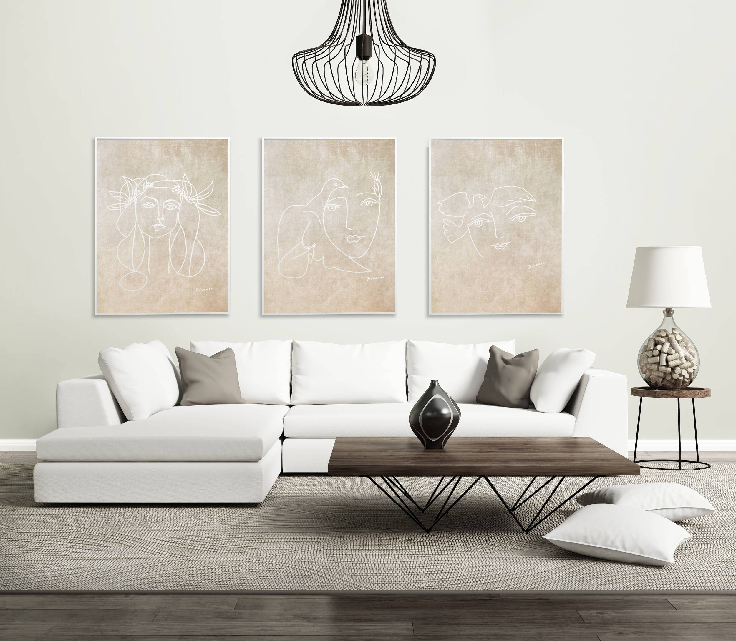 2018 Best Of Neutral Wall Art Pertaining To Most Popular Neutral Abstract Wall Art (View 1 of 20)