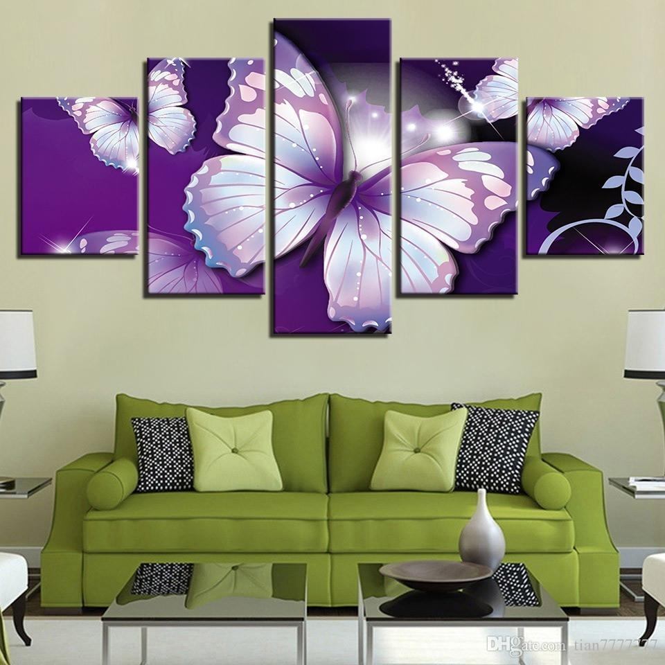 Featured Photo of Abstract Butterfly Wall Art