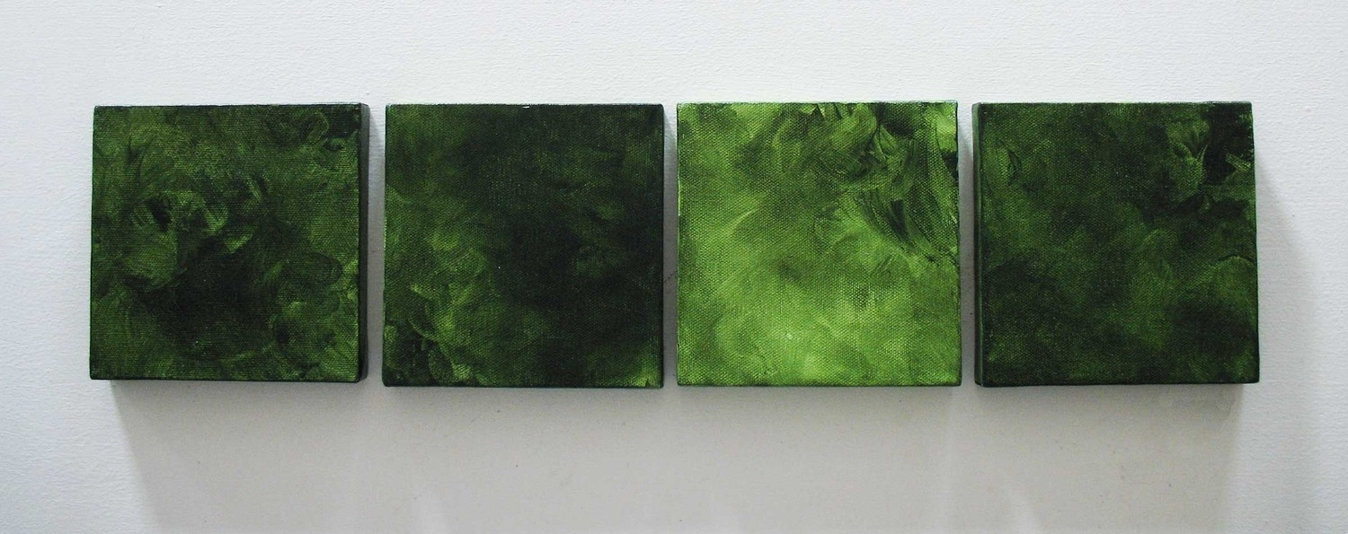 Featured Photo of Green Abstract Wall Art