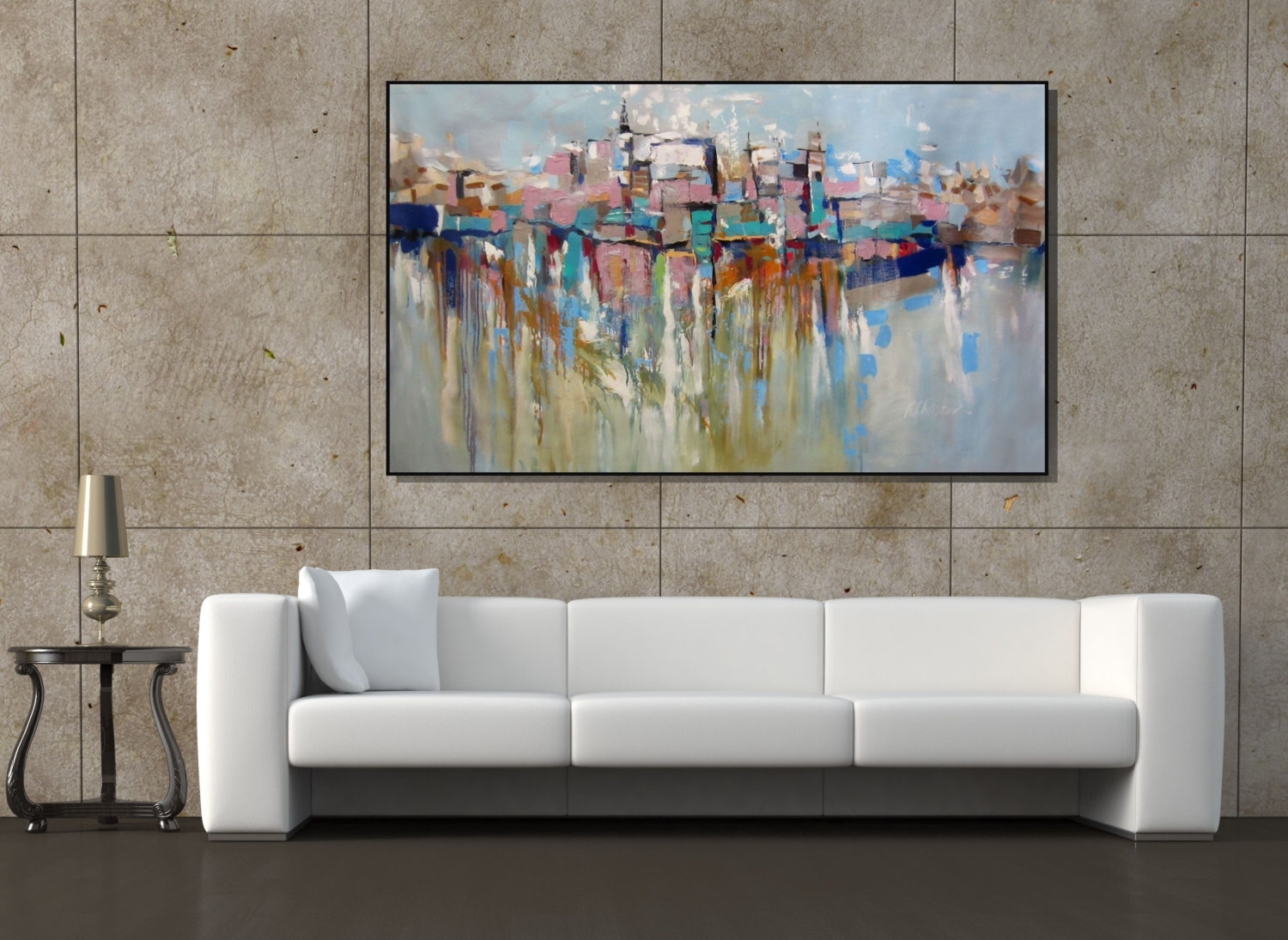 40 Homely Ideas Wall Art Large | Panfan Site In Newest Large Framed Abstract Wall Art (View 9 of 20)