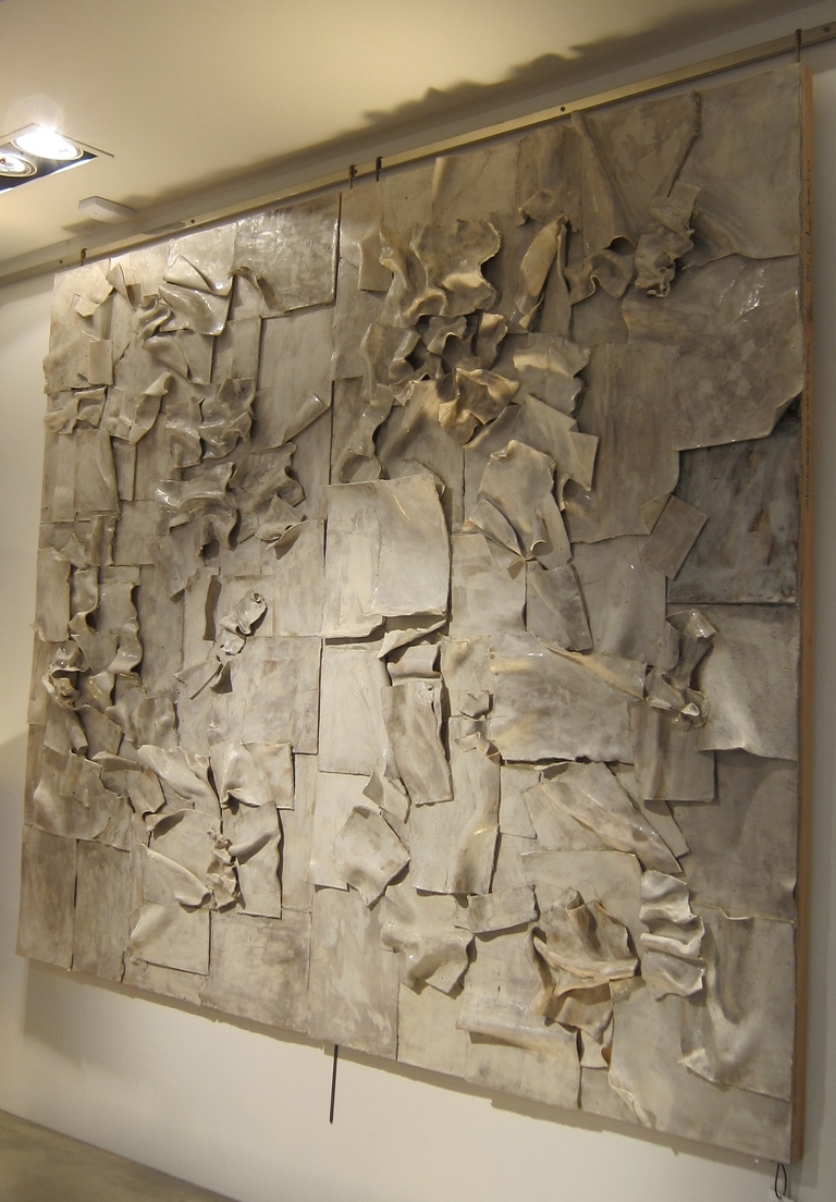 40 Shining Design Sculpture Wall Art | Panfan Site With Most Popular Abstract Ceramic Wall Art (View 4 of 20)