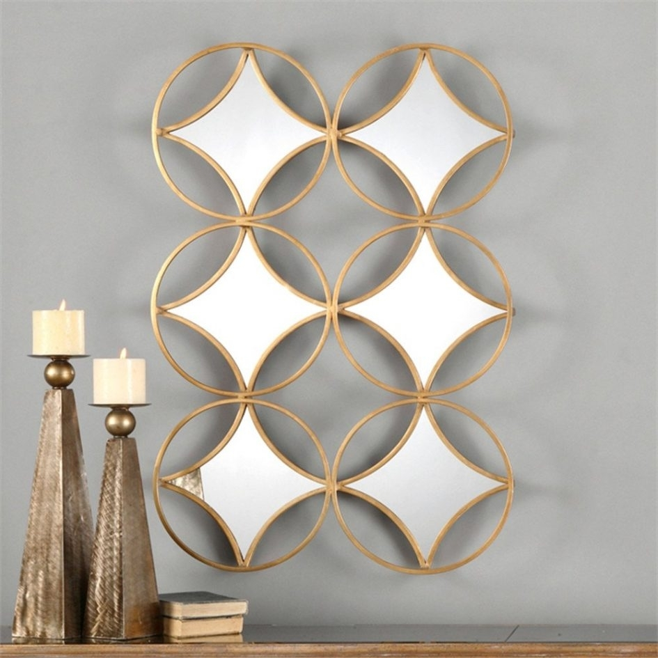 40 Strikingly Beautiful Geometric Metal Wall Art | Panfan Site Throughout Most Recently Released Geometric Modern Metal Abstract Wall Art (View 17 of 20)