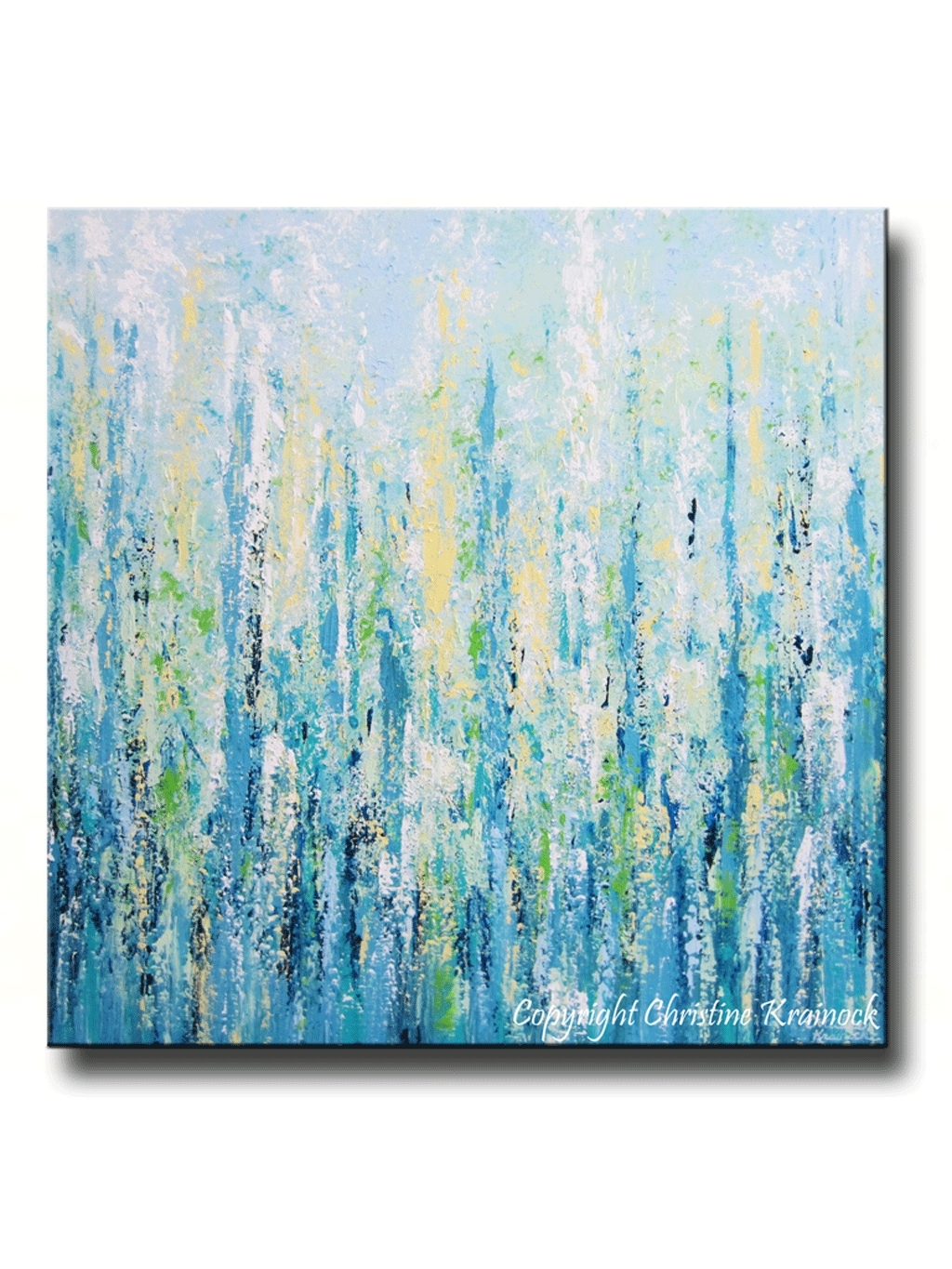 40 Wonderful Ideas Teal Canvas Wall Art | Panfan Site Within Most Recent Bright Abstract Wall Art (View 2 of 20)