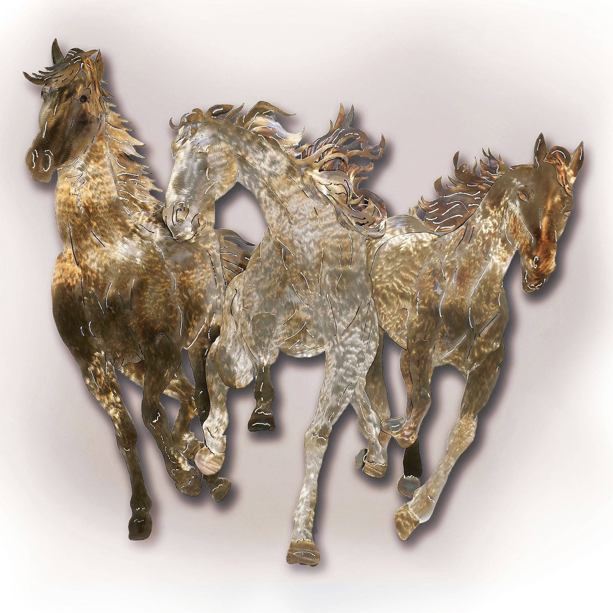 53 Metal Horse Wall Art, Horse Metal Wall Art Related Keywords Pertaining To 2017 Metal animal Wall Art (View 14 of 20)