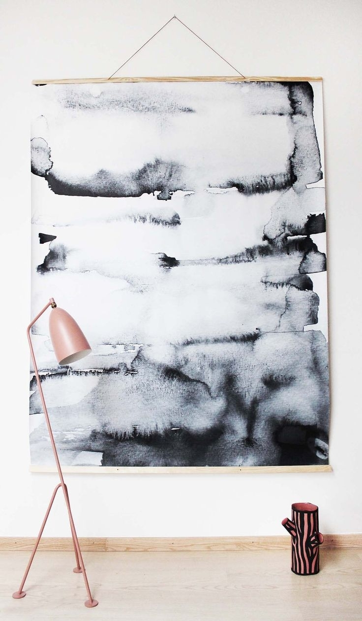 578 Best Art Images On Pinterest | Kids Rooms, Kid Bedrooms And With Regard To Latest Abstract Art Wall Hangings (View 7 of 20)