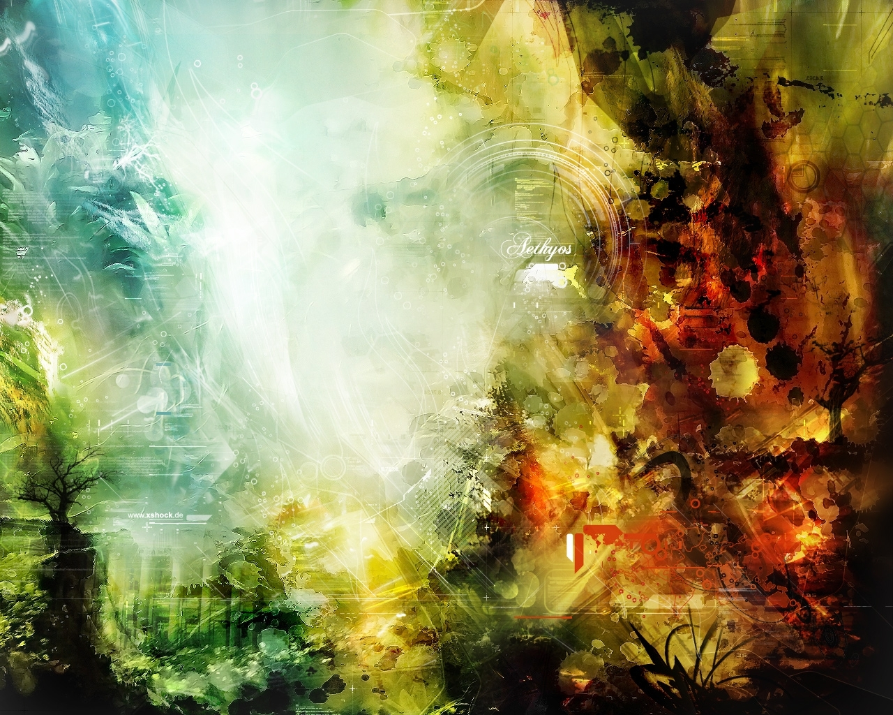A Hazy Scenery | Abstract Wallpapers | Pinterest Inside Most Up To Date Abstract Nature Wall Art (View 20 of 20)