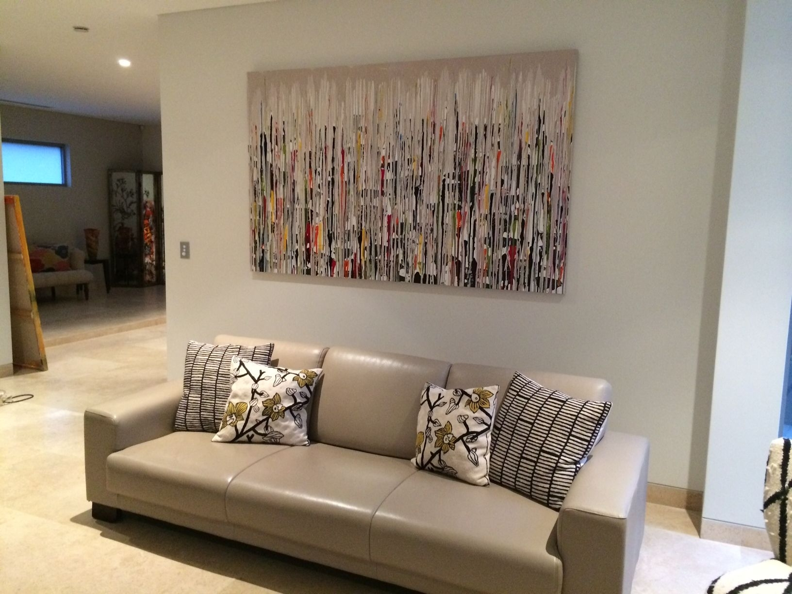Abstract Art Gallery Sydney   Home Decor   Interior Design With Regard To Newest Neutral Abstract Wall Art (View 3 of 20)