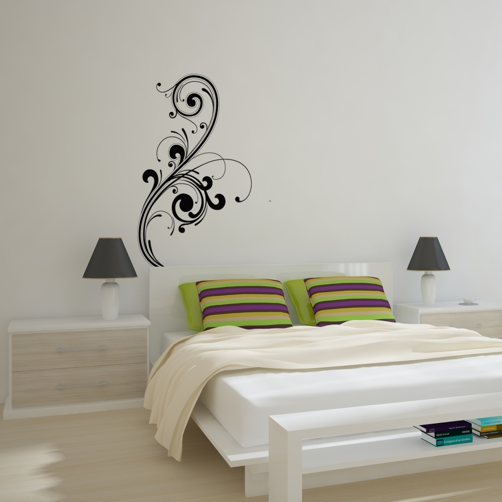 Abstract Art Wall Decal Removable Wall Stickers And Wall Wall In Throughout Best And Newest Abstract Art Wall Decal (View 4 of 20)