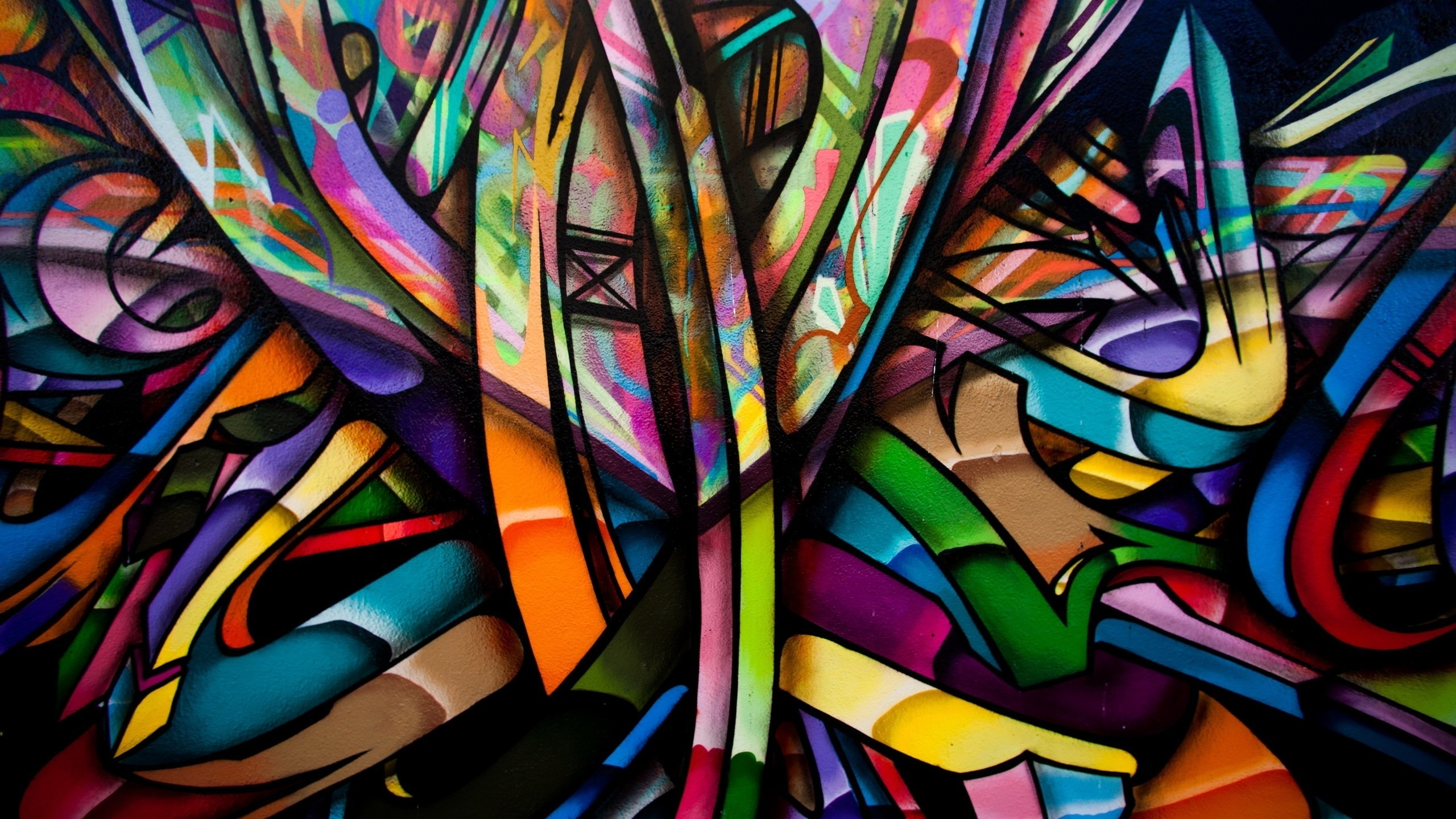 Abstract, #colorful, #graffiti, #wall, #artwork, #painting With Most Recently Released Abstract Graffiti Wall Art (View 5 of 20)