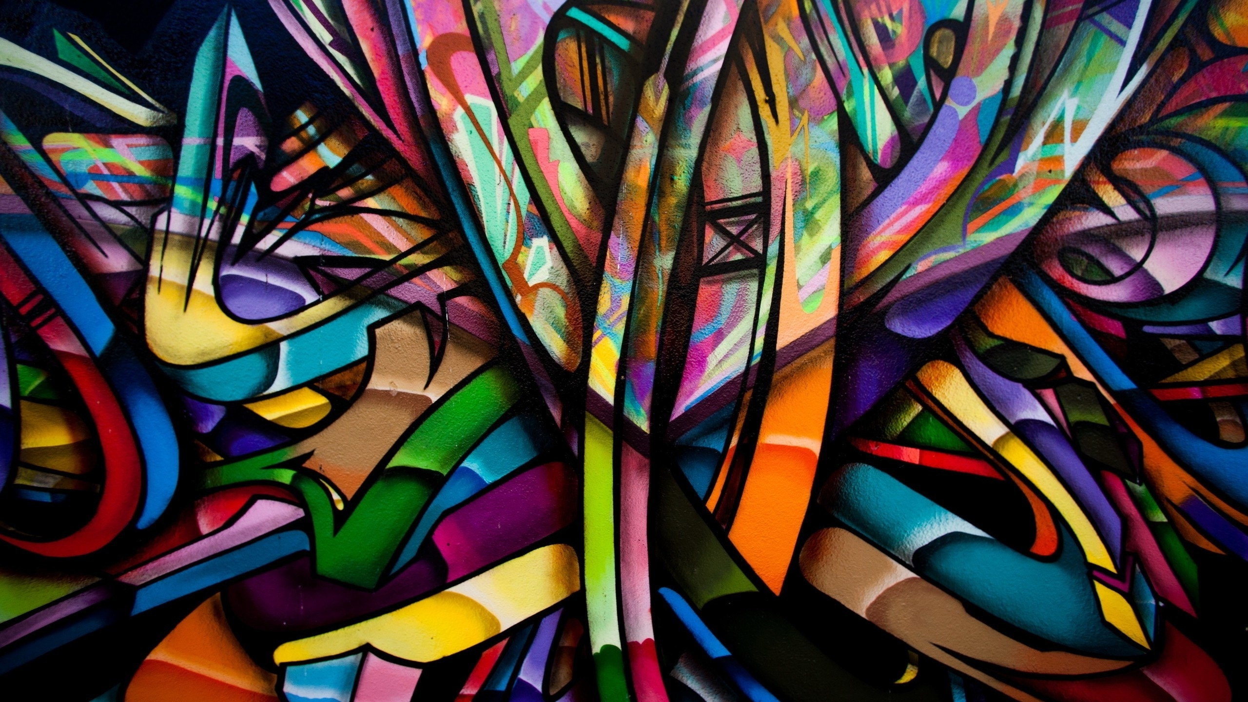 Abstract, Colorful, Graffiti, Walls, Artwork, Painting Wallpapers Within Best And Newest Abstract Graffiti Wall Art (View 14 of 20)