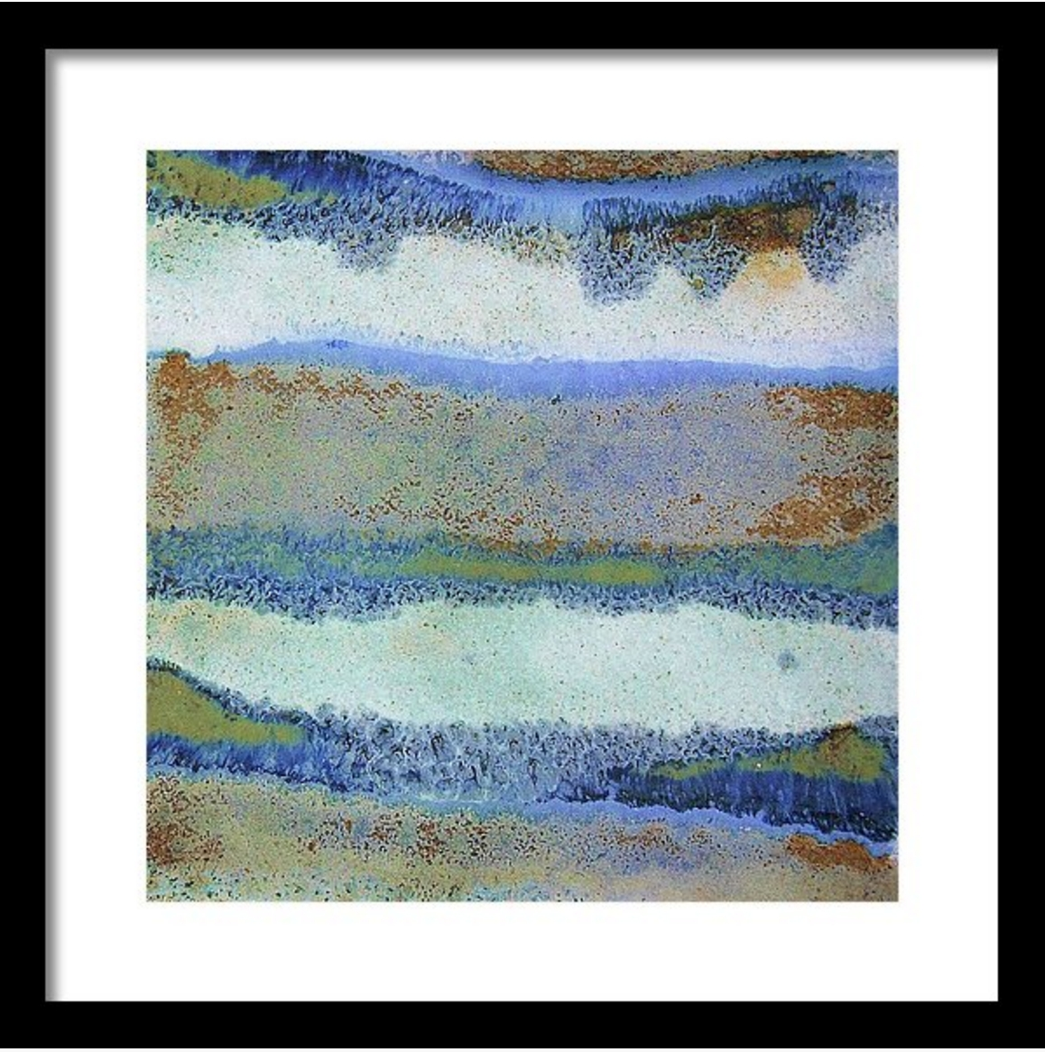 Abstract Framed Wall Art – Square #33 | Contemporary Frames Intended For Recent Blue Canvas Abstract Wall Art (View 18 of 20)