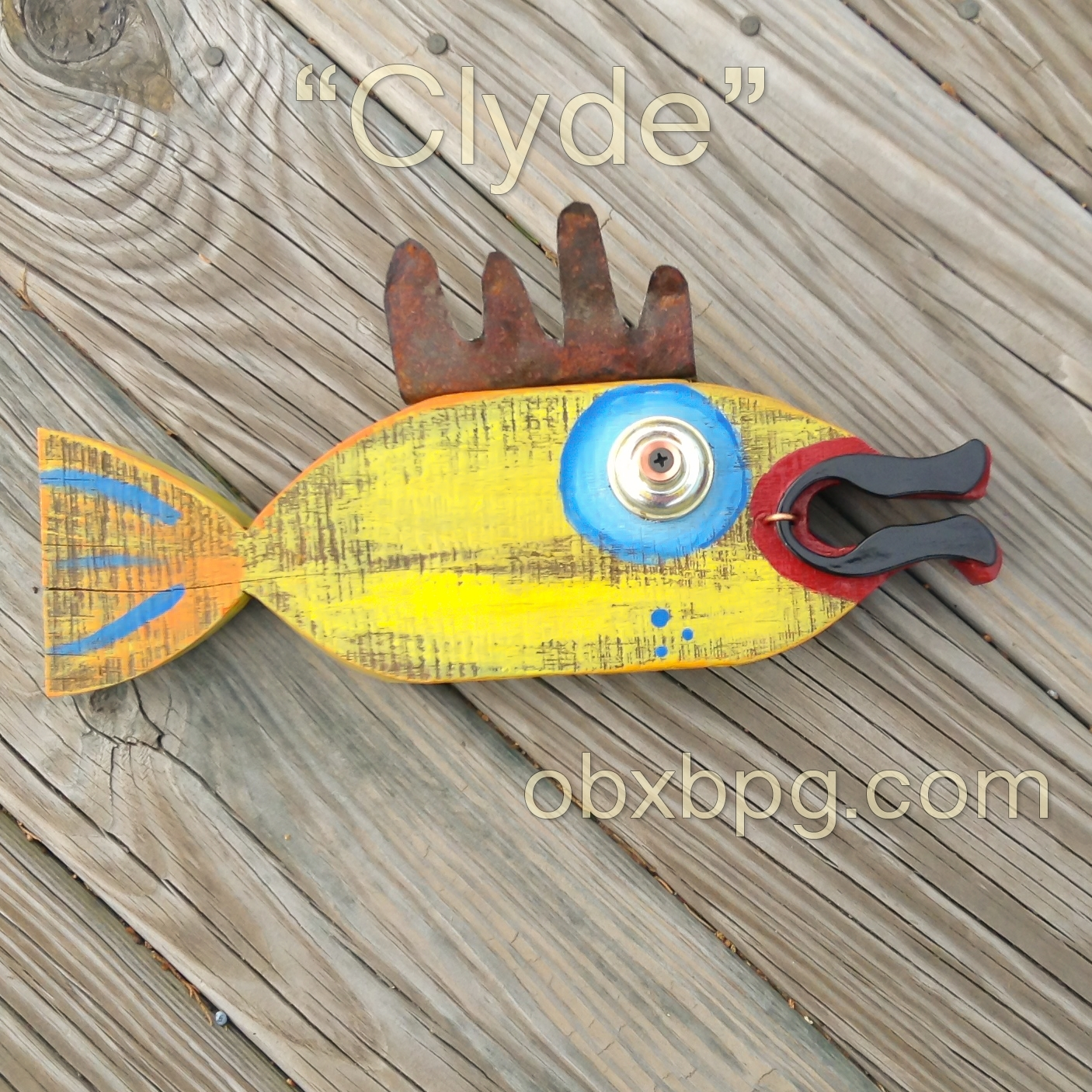 Wooden School Of Fish Wall Art - Wooden Designs