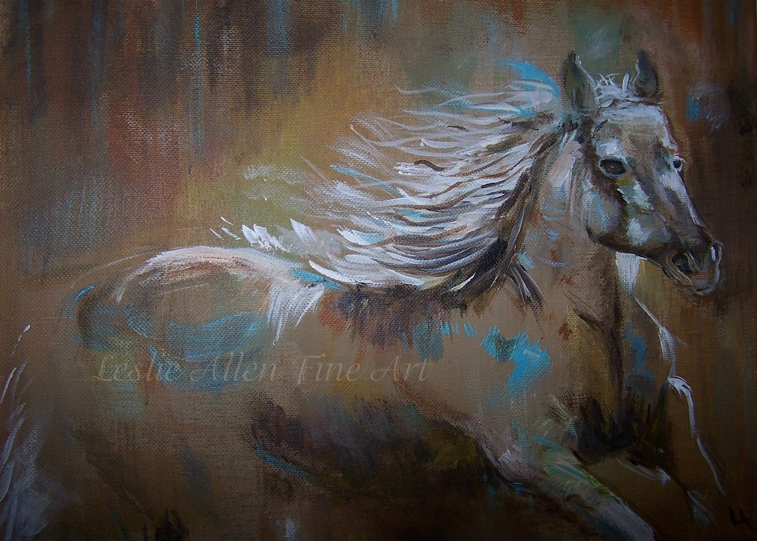 Abstract Horse Art | Abstract Horse Paintings Painting Horses Throughout Best And Newest Abstract Horse Wall Art (View 5 of 20)