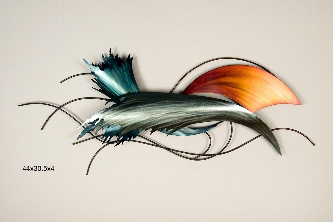 Abstract Metal Wall Art – Hoypoloi Gallery With 2017 Abstract Metal Fish Wall Art (View 1 of 20)