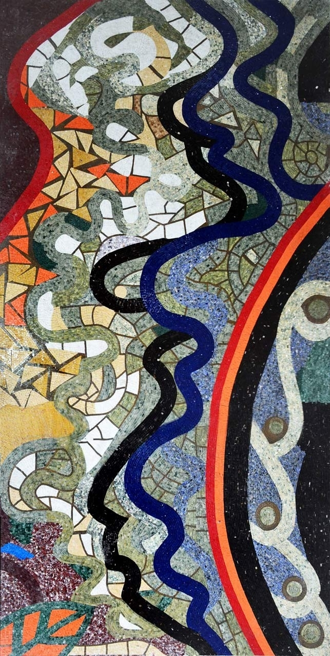 Abstract Mosaic – Tile Patterns | Tile Patterns, Mosaics And Within Most Recently Released Abstract Mosaic Wall Art (View 4 of 20)