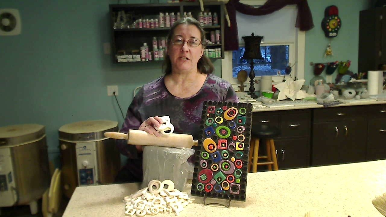 Abstract Mosaic Wall Piece Featuring Amy Zander – Youtube For Most Current Abstract Mosaic Art On Wall (View 8 of 20)