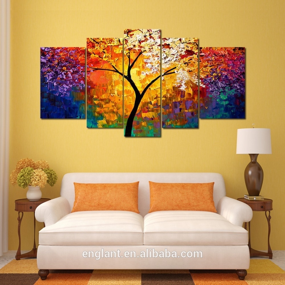 Abstract Wall Art Canvas Oil Painting – Buy Canvas Oil Painting Intended For Recent Modern Abstract Wall Art Painting (View 18 of 20)