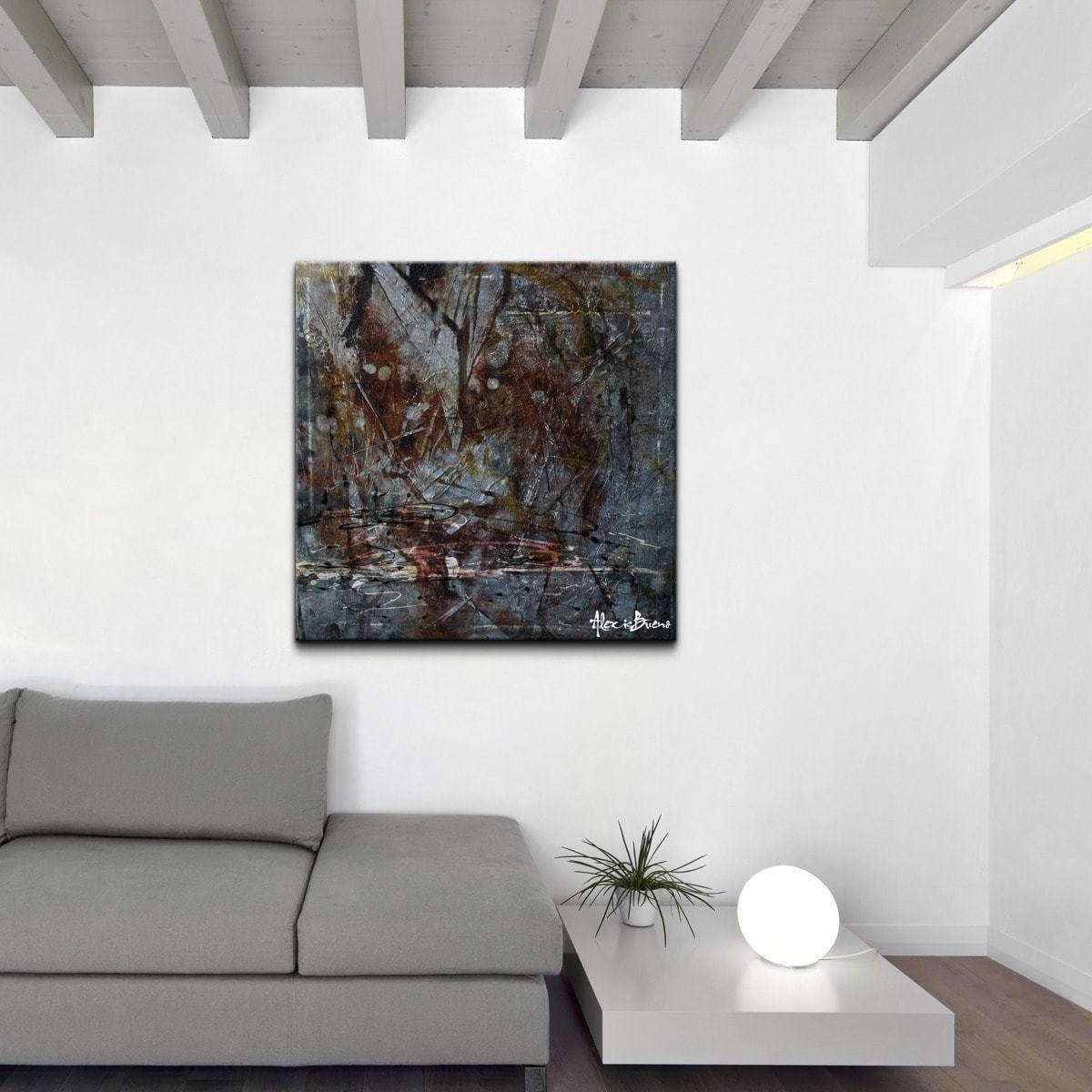 Alexis Bueno Abstract Oversized Canvas Wall Art | Ebay With 2018 Abstract Oversized Canvas Wall Art (View 18 of 20)