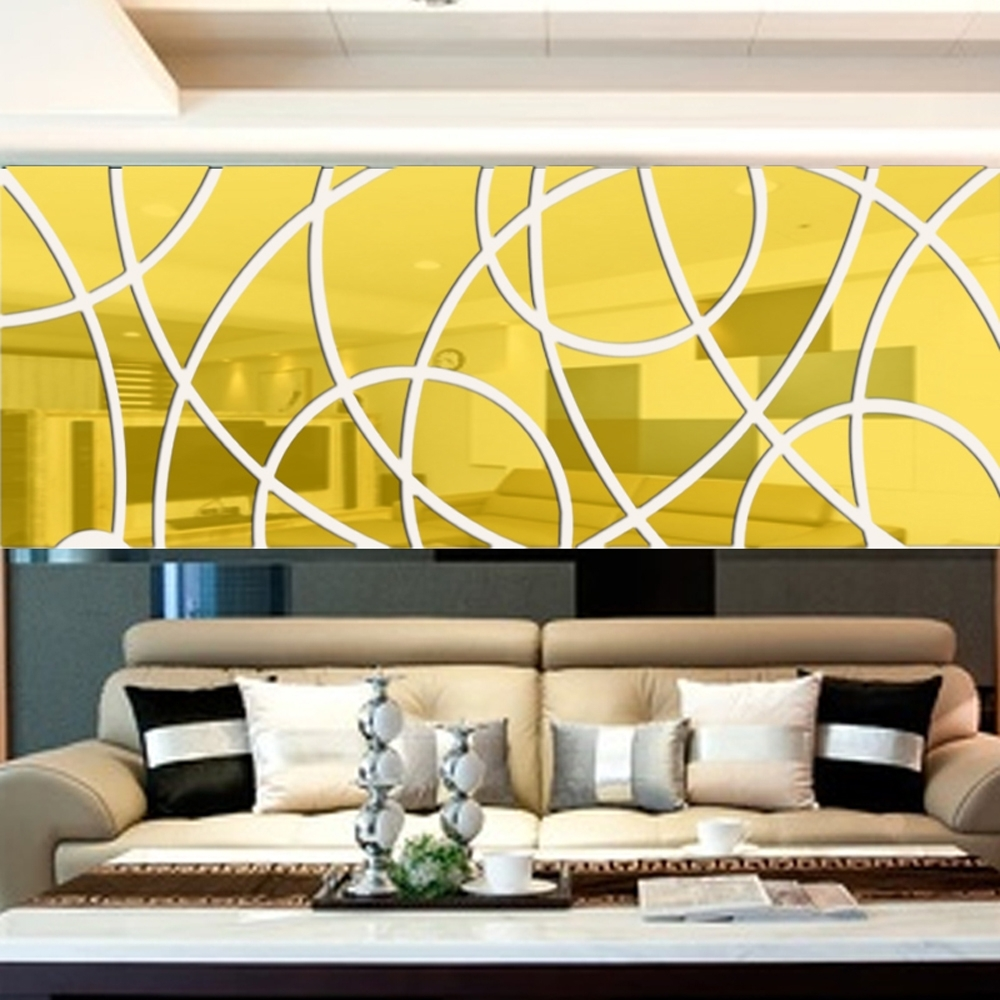 Best 20+ of Abstract Art Wall Decal
