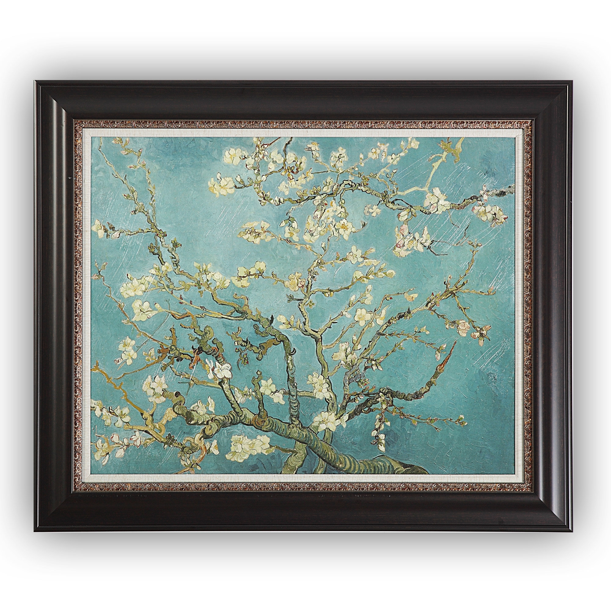 Almond Blossom'vincent Van Gogh Framed Painting Print For Current Almond Blossoms Vincent Van Gogh Wall Art (View 2 of 20)