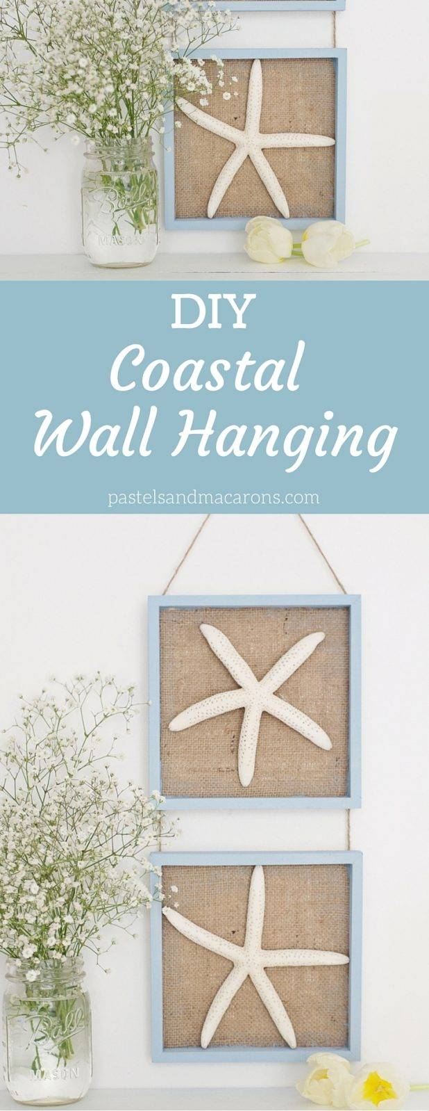 Amazing Coastal Decor Wall Clocks Image Of Turquoise Coastal Intended For Current Crate Barrel Coastal Wall Art (View 9 of 20)
