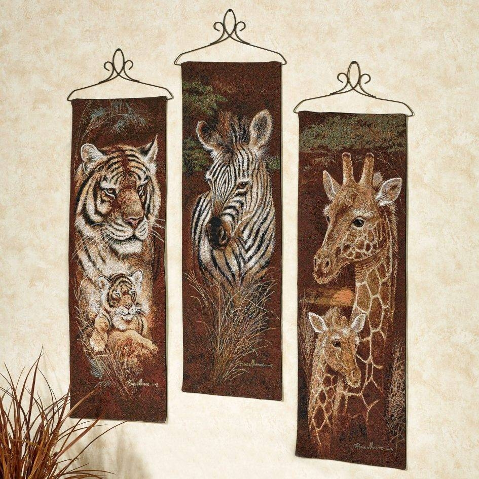 20 Inspirations Of African Animal Wall Art