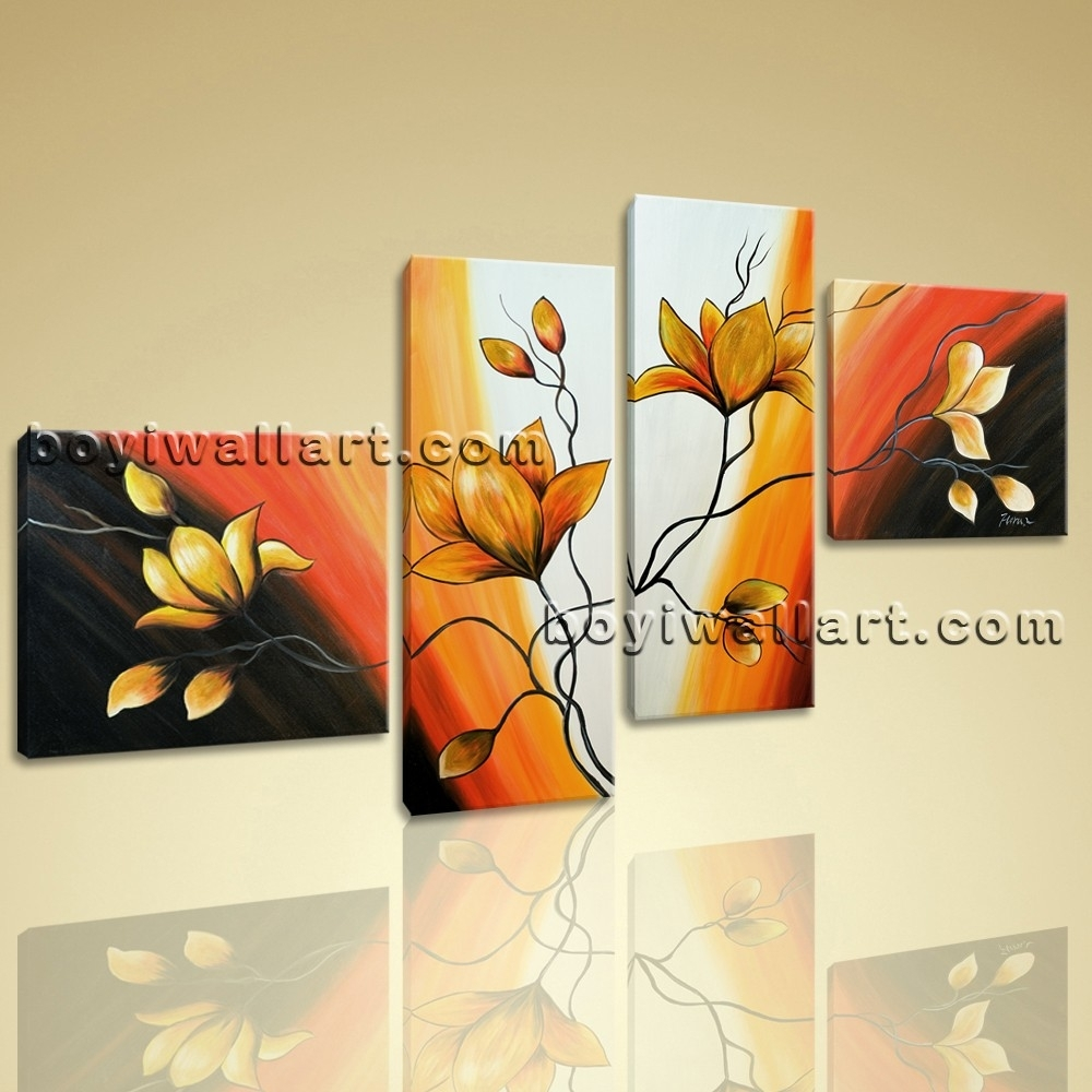 Photos of Abstract Floral Wall Art (Showing 12 of 20 Photos)