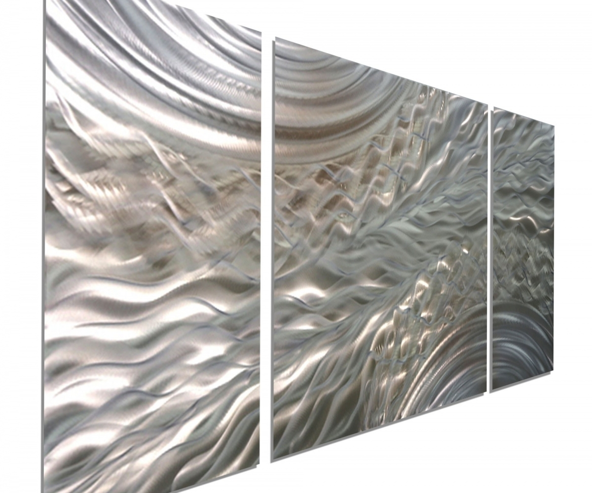 Awesome Image Outdoor Metal Wall Art Style Outdoor Metal Wall Art Throughout Most Recent Abstract Aluminium Wall Art (View 11 of 20)