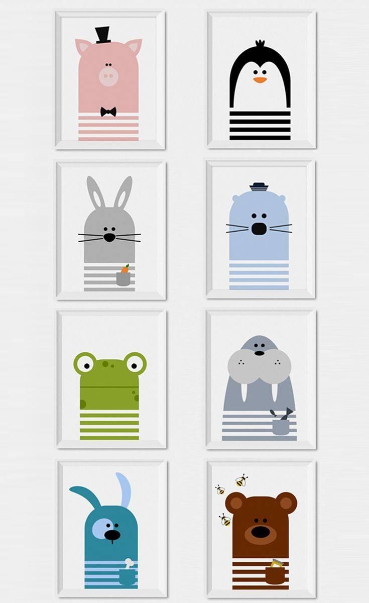 Best 25+ Nursery Wall Art Ideas On Pinterest | Baby Nursery Decor Regarding Most Popular NurseryAnimal Wall Art (View 4 of 20)