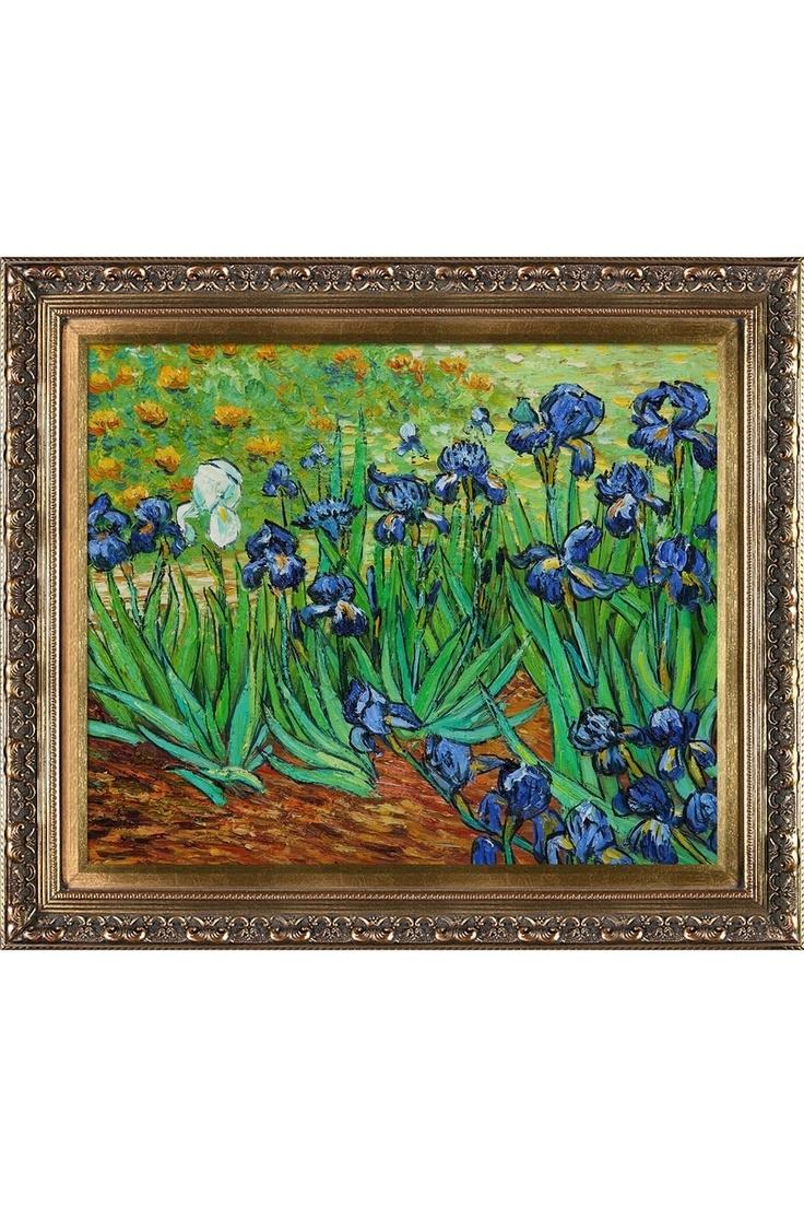 Best 25+ Van Gogh Iris Ideas On Pinterest   Van Gogh Flowers, Van With Regard To Newest Vincent Van Gogh Wall Art (View 2 of 20)