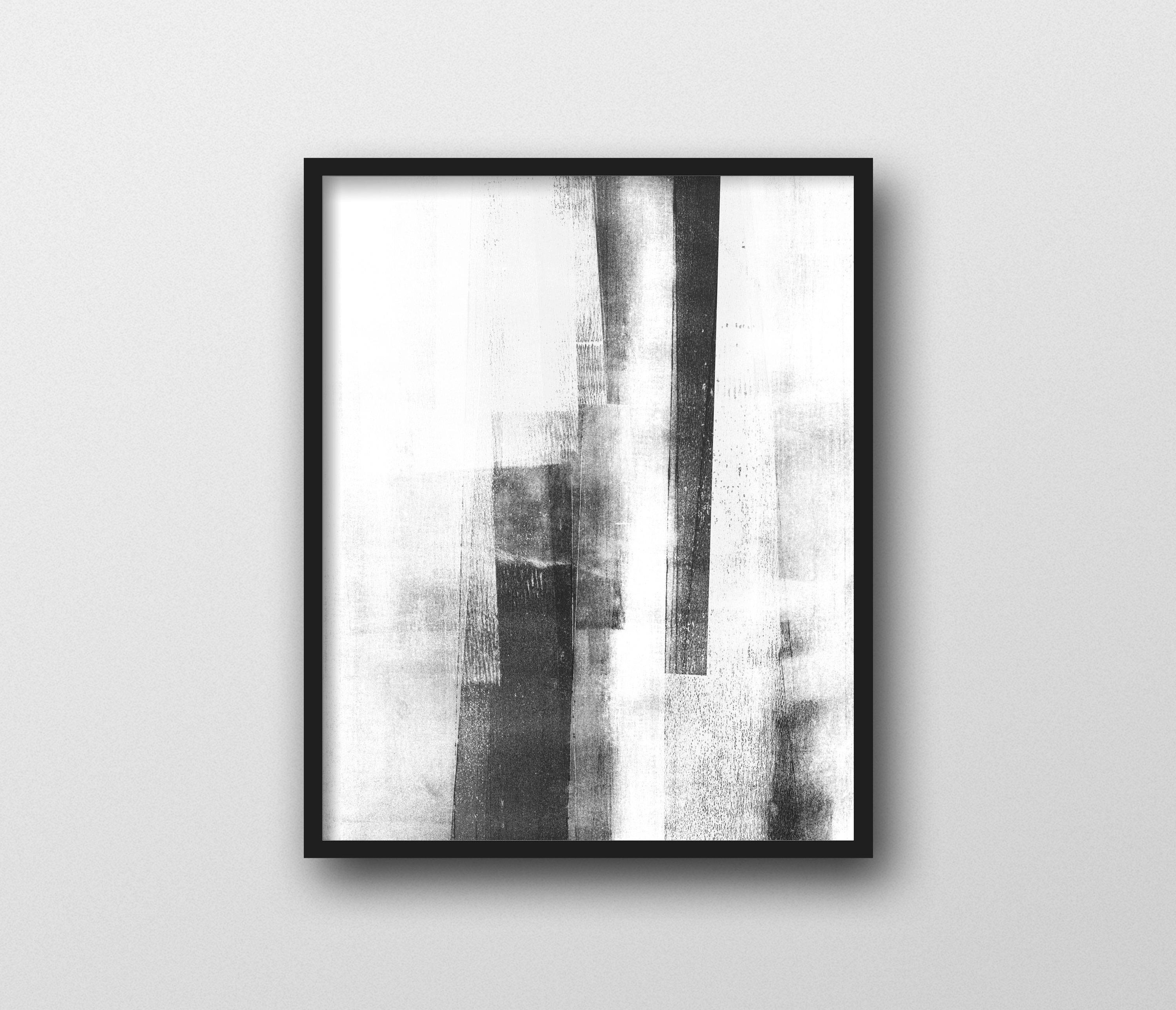 Black & White Wall Art Prints, Scandinavian Art, Minimalist Poster Intended For 2018 Abstract Wall Art Posters (View 3 of 20)