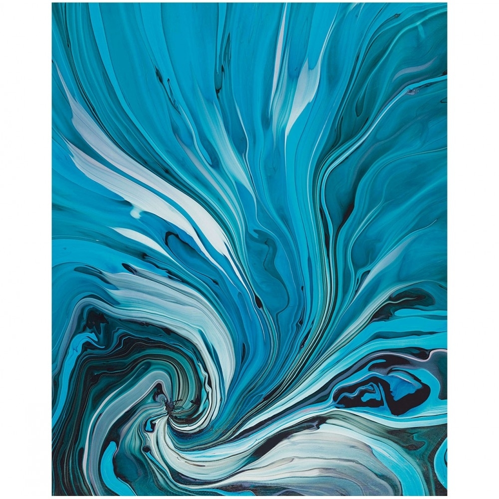 Blue Abstract Wall Art, Creative Furniture – Modern Manhattan Intended For Recent Blue Abstract Wall Art (View 7 of 20)