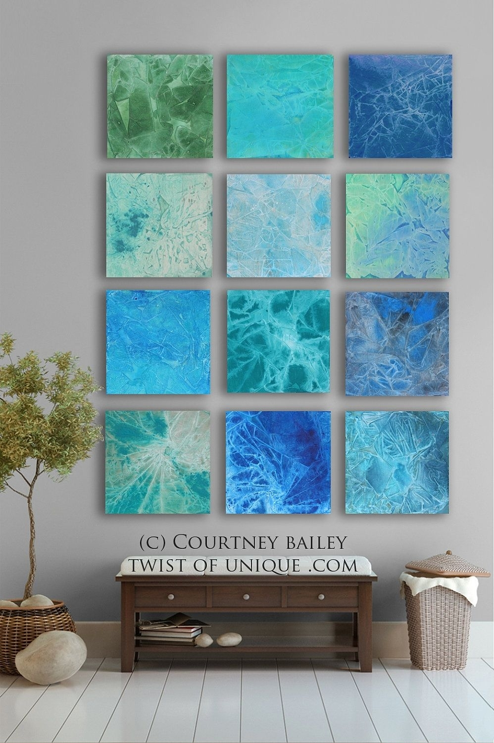 Bold Custom Abstract Painting, 12 Square Modern Abstract Wall Art Regarding Latest Bold Abstract Wall Art (View 12 of 20)