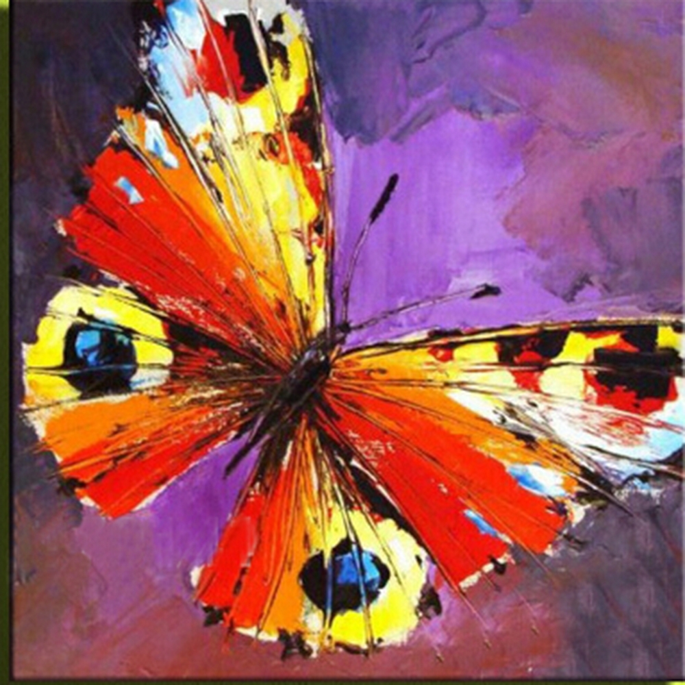Butterfly – Abstract Art – Colorful | ****rainbow Colors Group Intended For Most Recent Abstract Butterfly Wall Art (View 10 of 20)