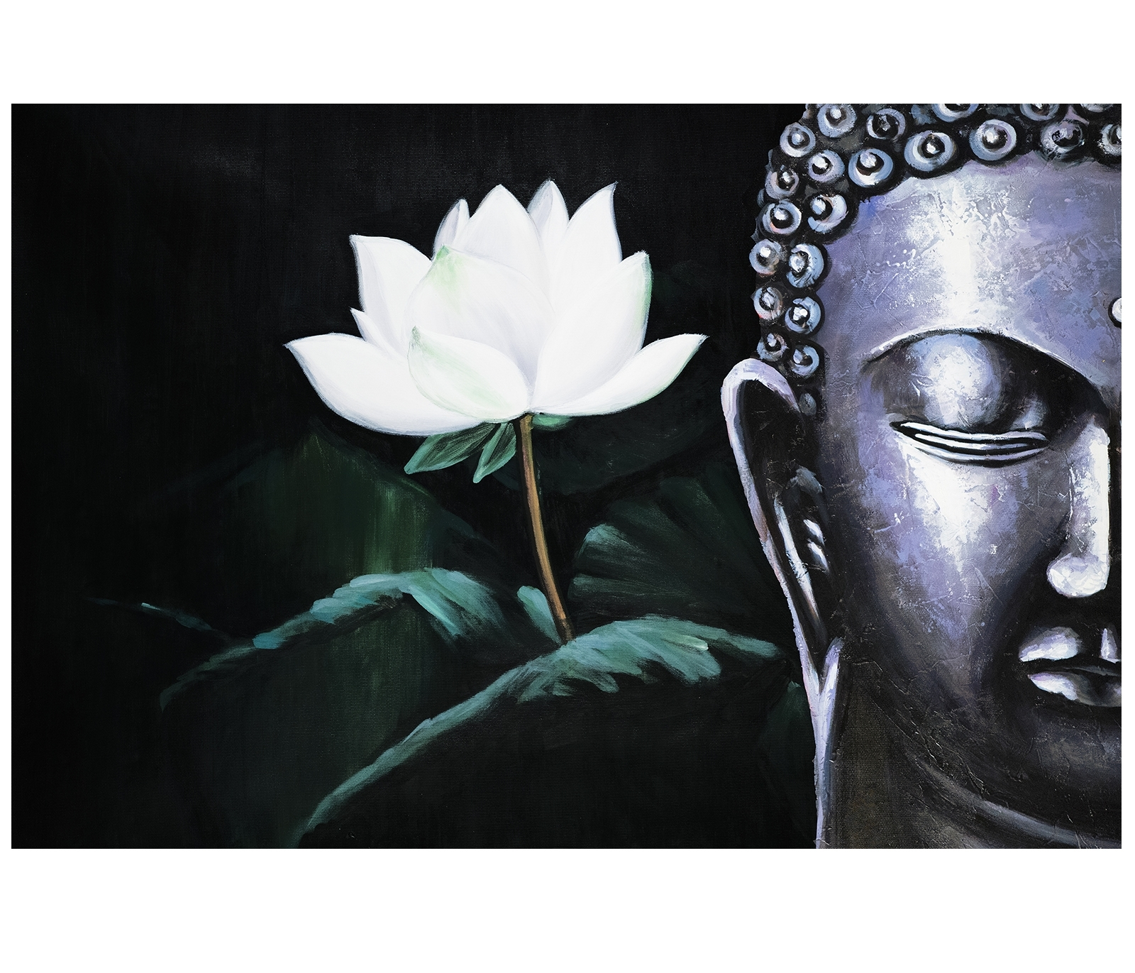 Canvas Art Prints Contemporary Art Paintings Abstract Art Regarding Most Recently Released Abstract Buddha Wall Art (View 6 of 20)