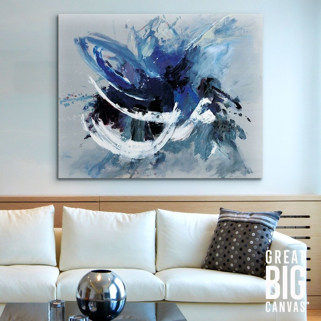 Carpe Diem | Abstract Wall Art, Modern Living Rooms And Modern Living Intended For Current Bold Abstract Wall Art (View 14 of 20)