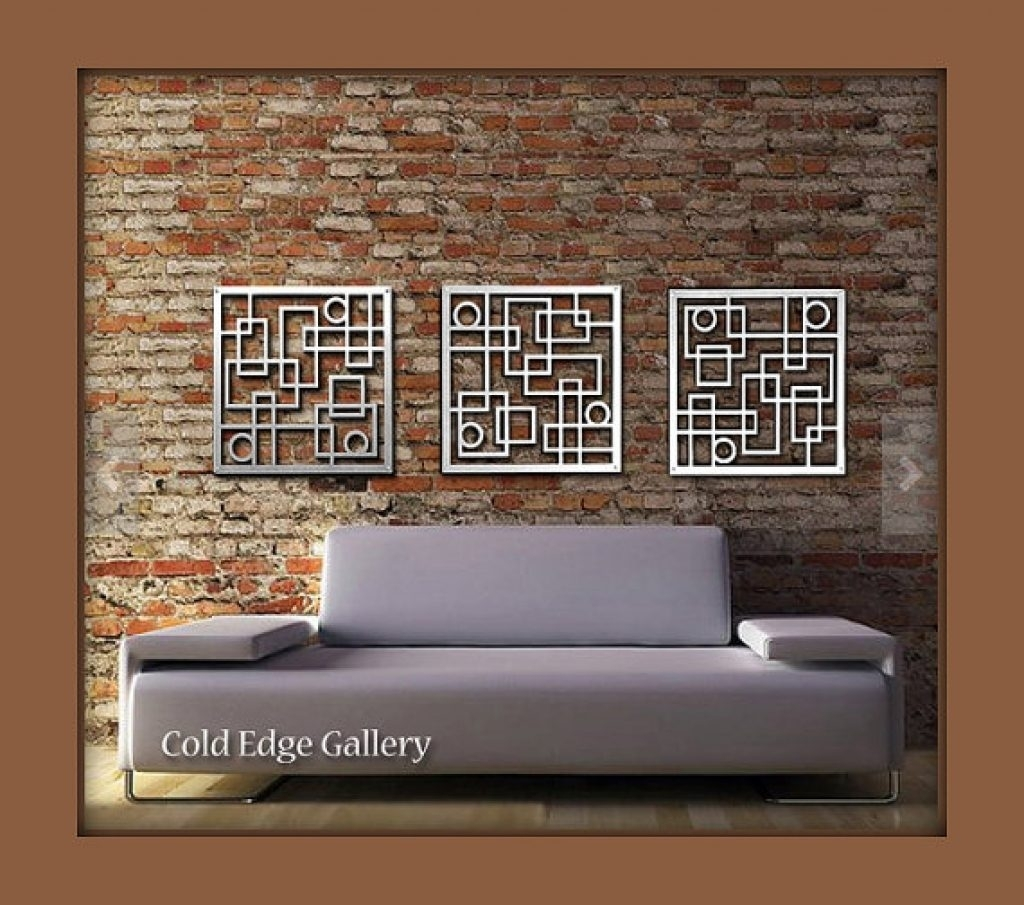 Charming Inspiration Aluminum Wall Art Also Metal Decor Abstract With Regard To Most Up To Date Abstract Aluminium Wall Art (View 9 of 20)