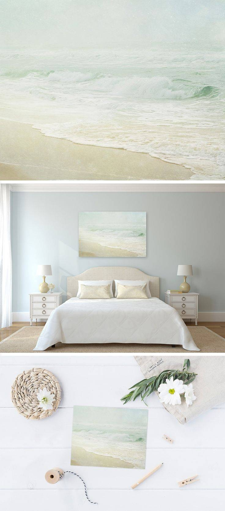 Chic Coastal Wall Art Canvas Crate Barrel Australia Ideas Decor Uk For 2017 Coastal Wall Art Decor (View 8 of 20)