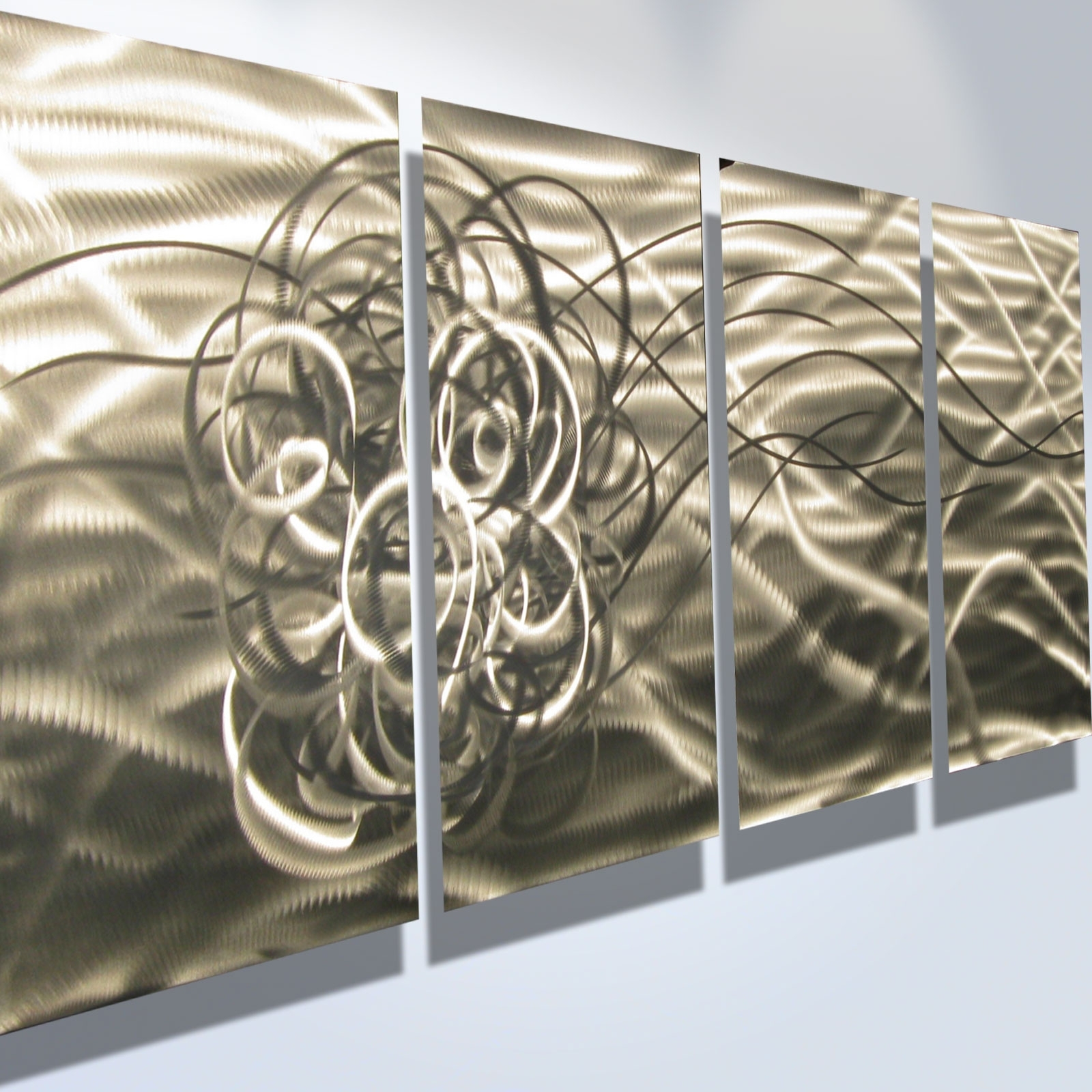 Classy 10+ Abstract Metal Wall Art Design Inspiration Of Best 25+ In Most Up To Date Kindred Abstract Metal Wall Art (View 3 of 20)