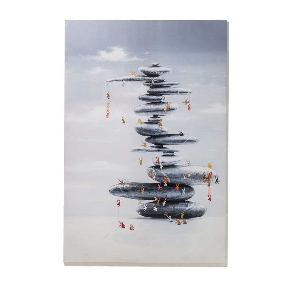 Climbing Monkeys Art – Dwell Intended For Most Current Dwell Abstract Wall Art (View 16 of 20)
