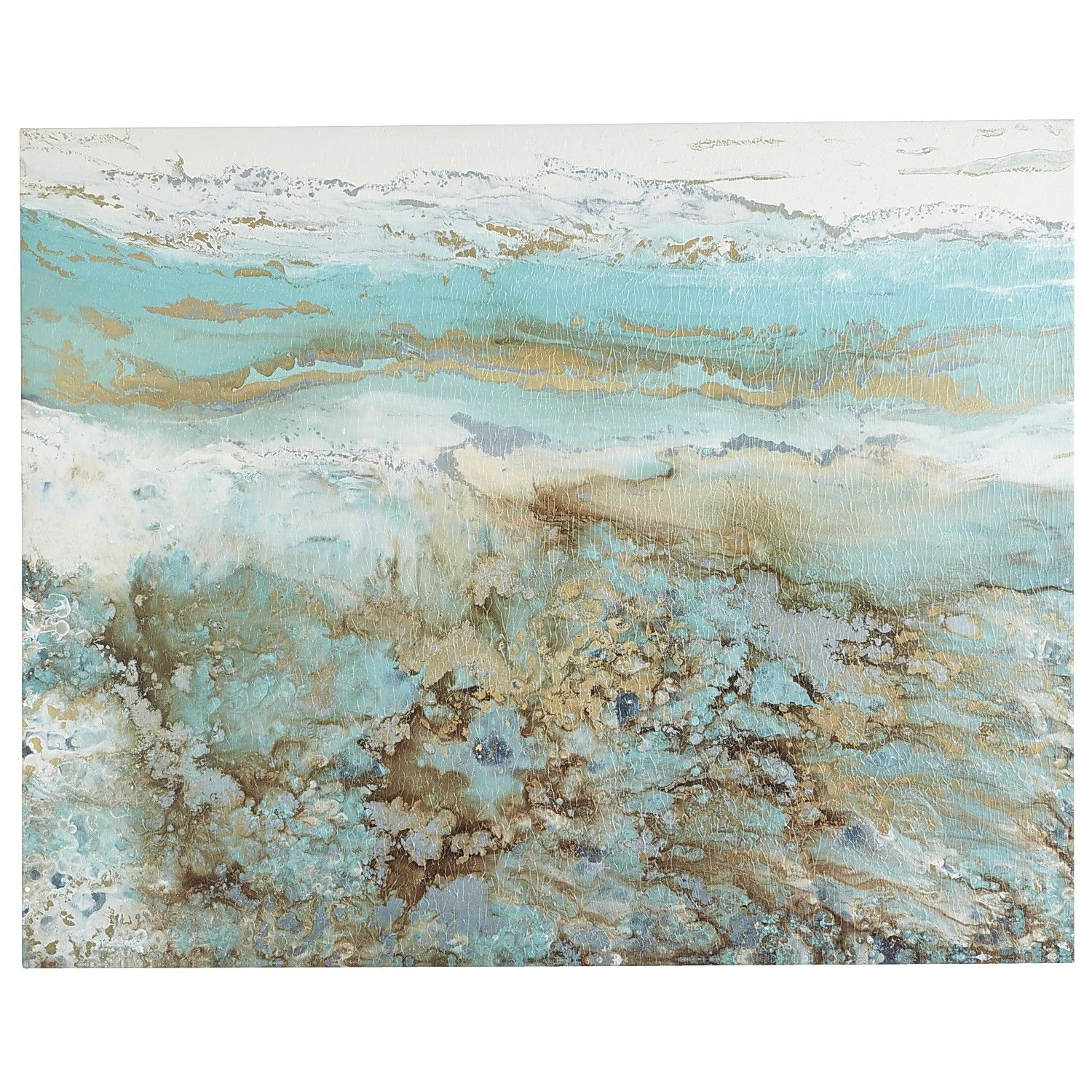Coastal Air Abstract Art – 3X4 | Coastal, Beach House Bedroom And Throughout Most Recently Released Pier One Abstract Wall Art (View 4 of 20)