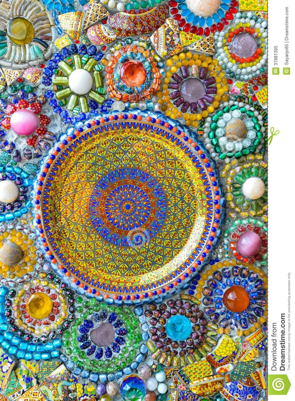 Colorful Mosaic Art And Abstract Wall Background (View 14 of 20)