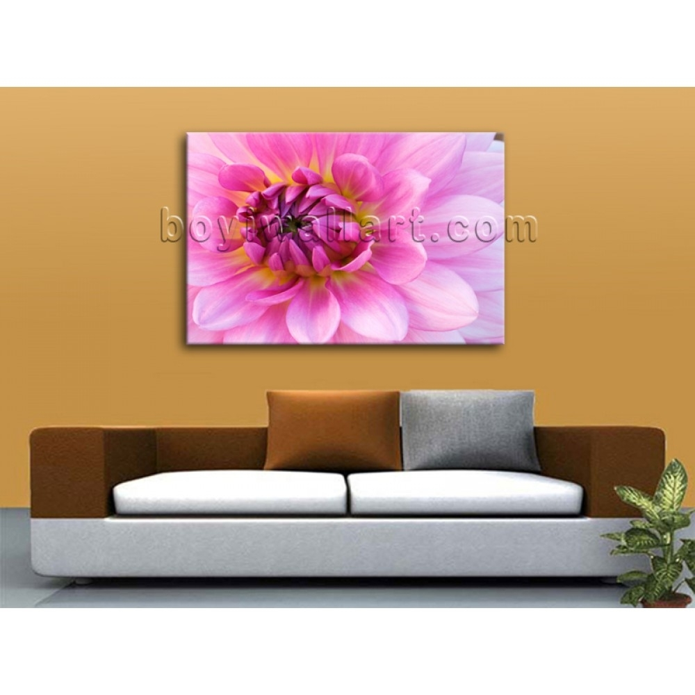Contemporary Abstract Floral Wall Art Print On Canvas Flower In 2018 Abstract Floral Wall Art (View 14 of 20)