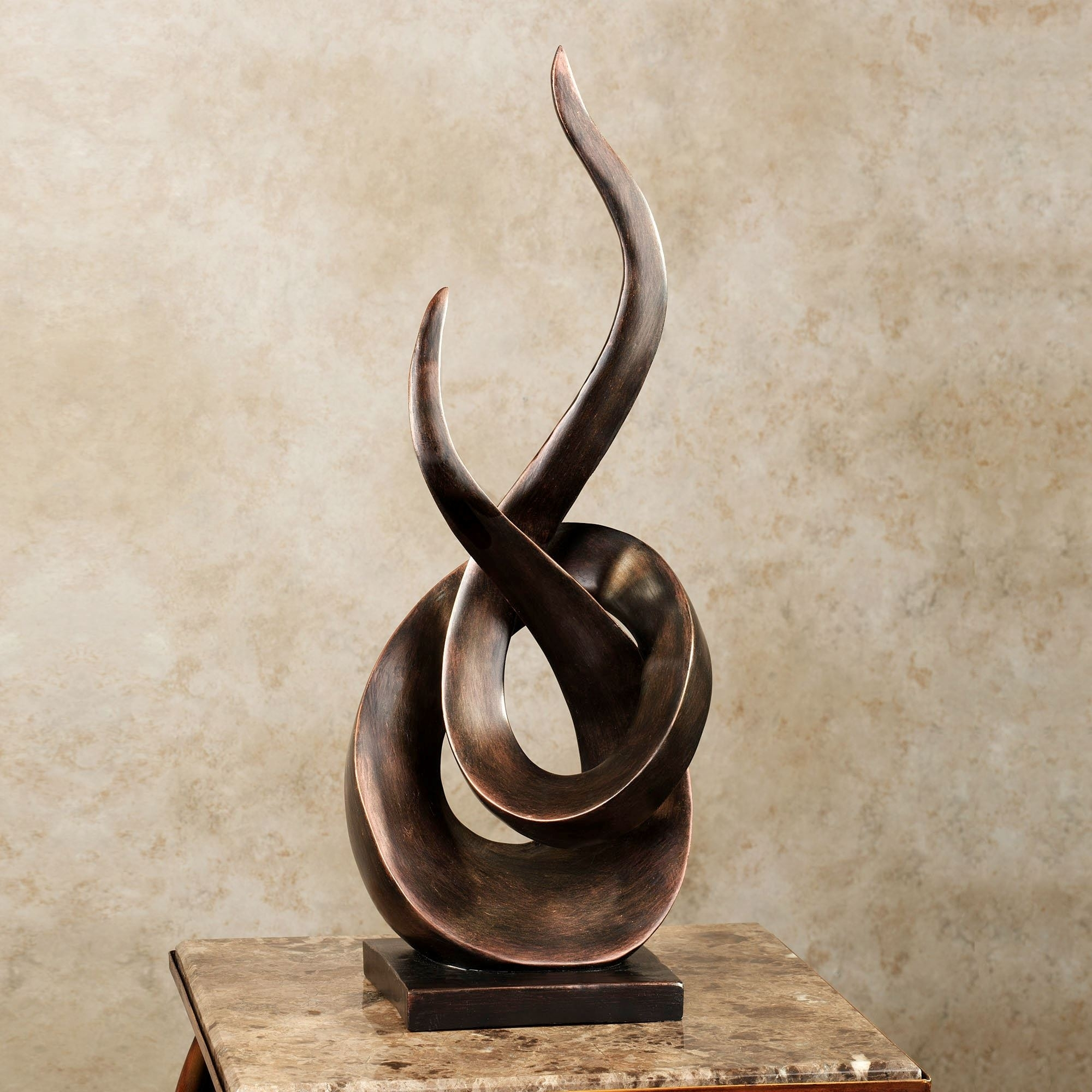 Contemporary And Abstract Sculptures And Figurines | Touch Of Class Intended For Most Up To Date Kindred Abstract Metal Wall Art (View 12 of 20)