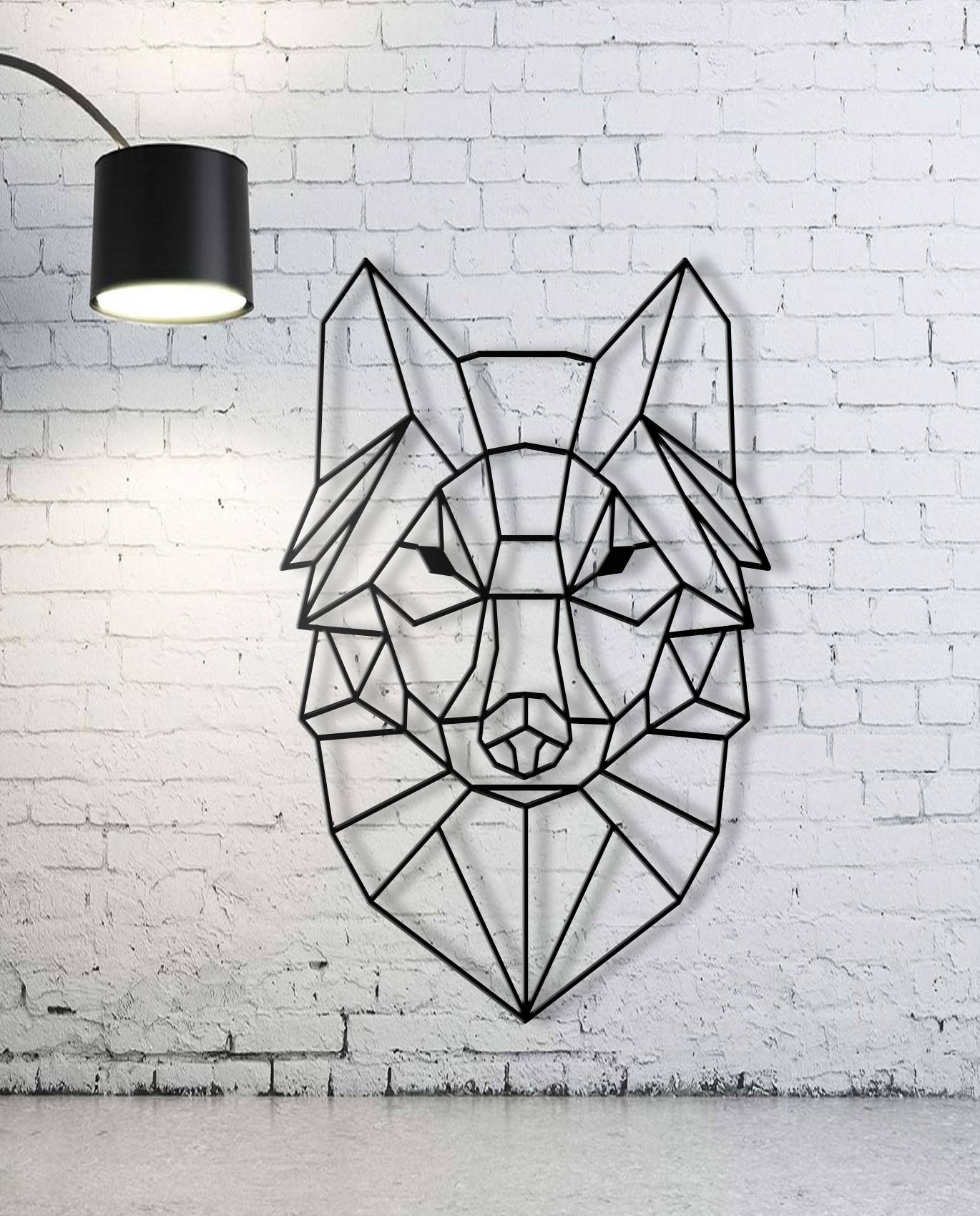 Custom Animal Geometric Wall Art, Wall Art,custom Sign, Family With Regard To Most Up To Date Metal animal Wall Art (View 3 of 20)