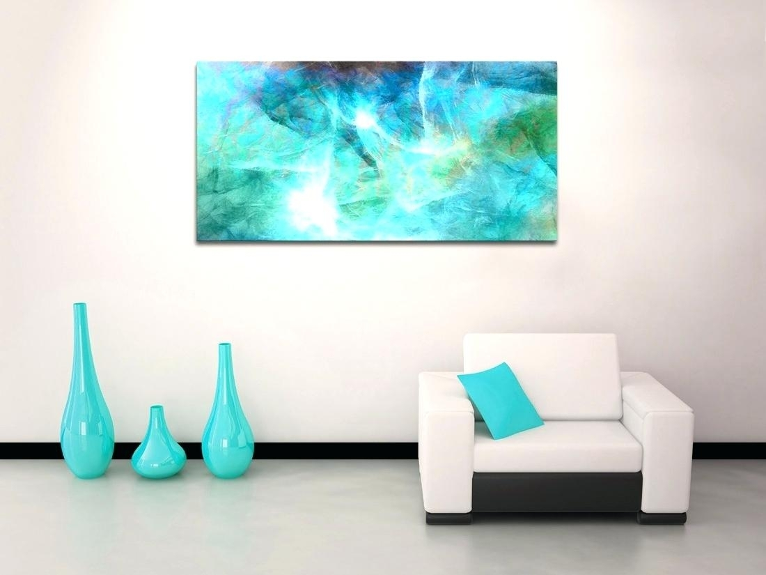 Decoration: Diy Abstract Art Canvas Wall Print Modern Painting With Regard To Most Recent Diy Abstract Wall Art (View 19 of 20)