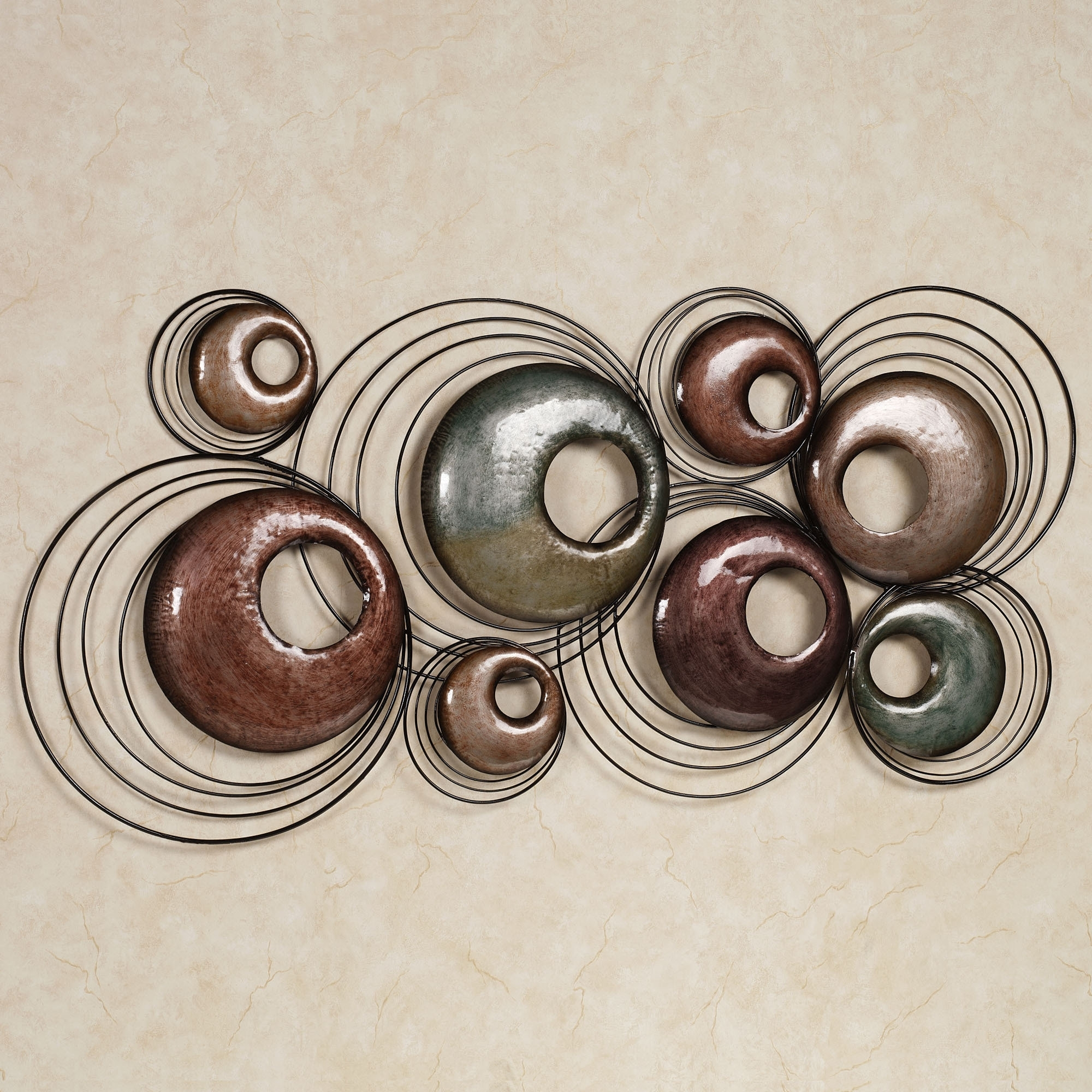 Decorations: Cool Metal Wall Decor As Home Decorations Sculpture With Most Current Abstract Metal Wall Art Panels (View 9 of 20)