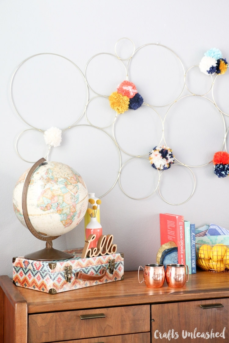 Diy Abstract Wall Art: Perfect For Fall – Consumer Crafts Throughout Most Up To Date Diy Abstract Wall Art (View 12 of 20)