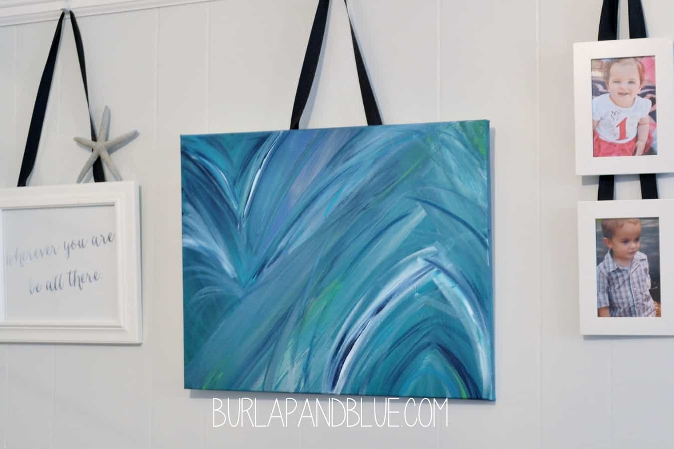Diy Canvas Wall Art Tutorials Regarding Most Recently Released Diy Abstract Canvas Wall Art (View 10 of 20)